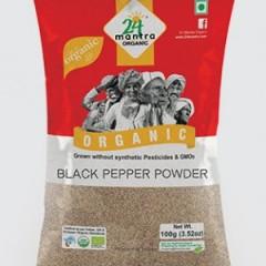 Black Pepper Powder-24mantra 100 GMS