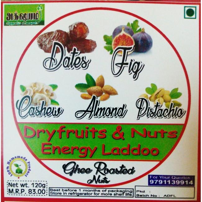 Dry Fruit Ladoo-Akshayam 120G