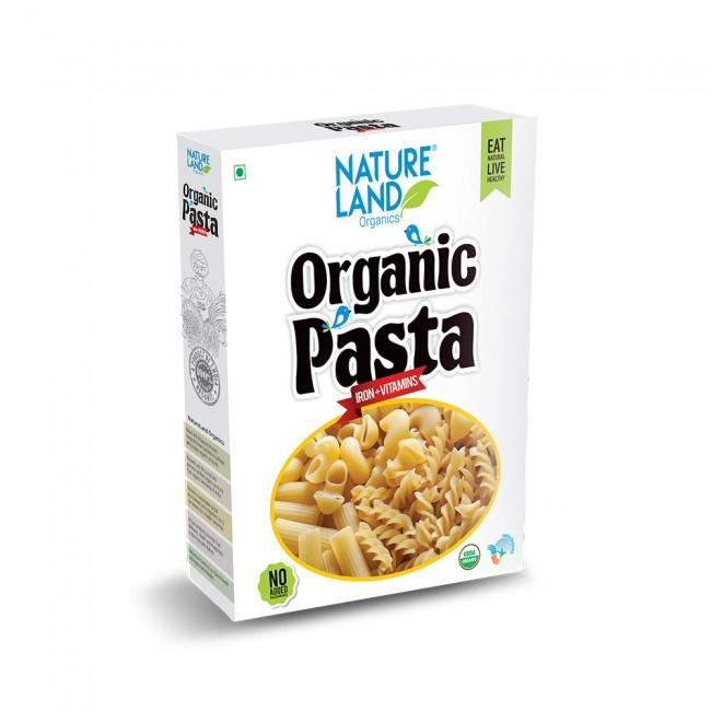 Natureland Organics Pasta Macroni 250 Gm - Organic Pasta